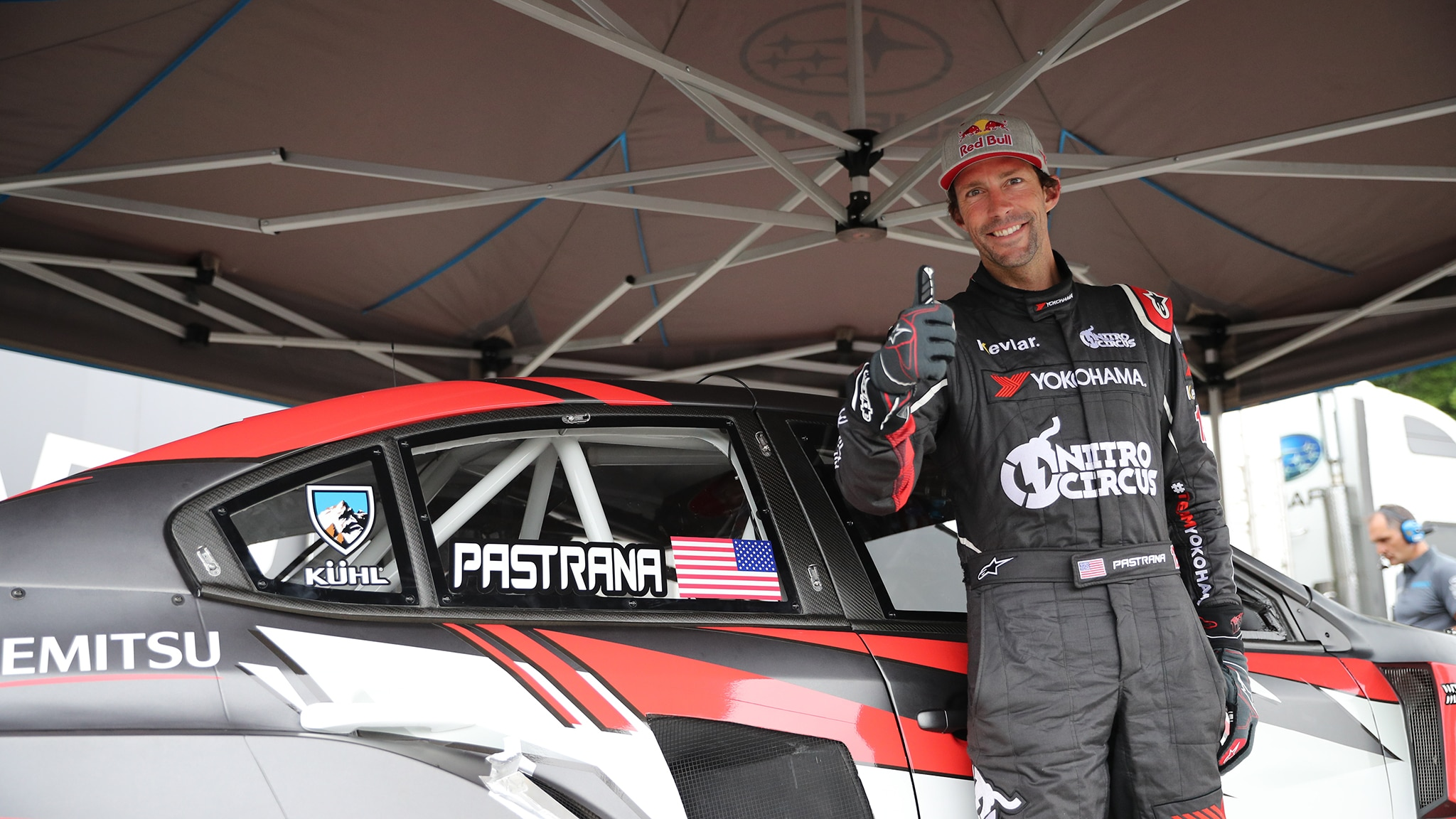 Travis Pastrana Gives Us The Dirt On The Nitro Rallycross