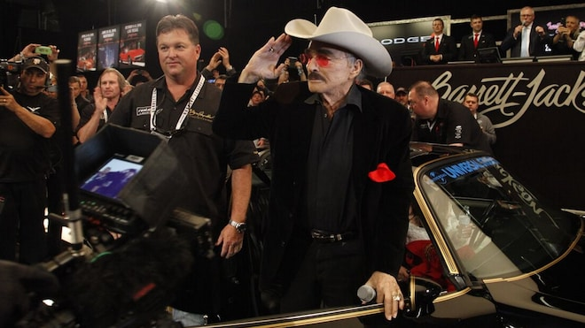 Burt Reynolds Barrett Jackson Auction Las Vegas