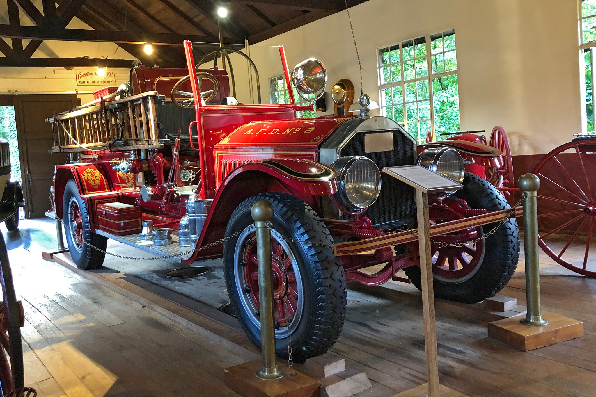 1922 American LaFrance Type 75 Grovewood Museum