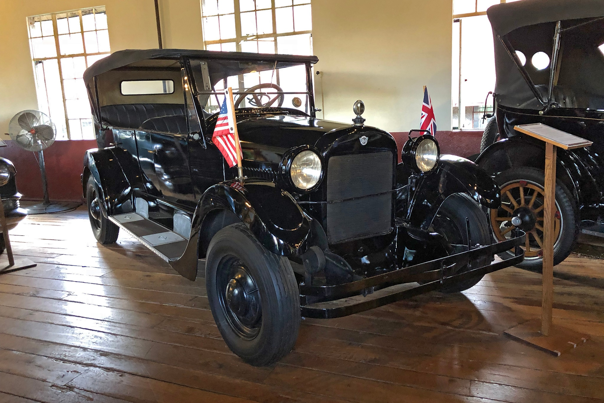 Seven Favorites from the Grovewood Village Antique Car