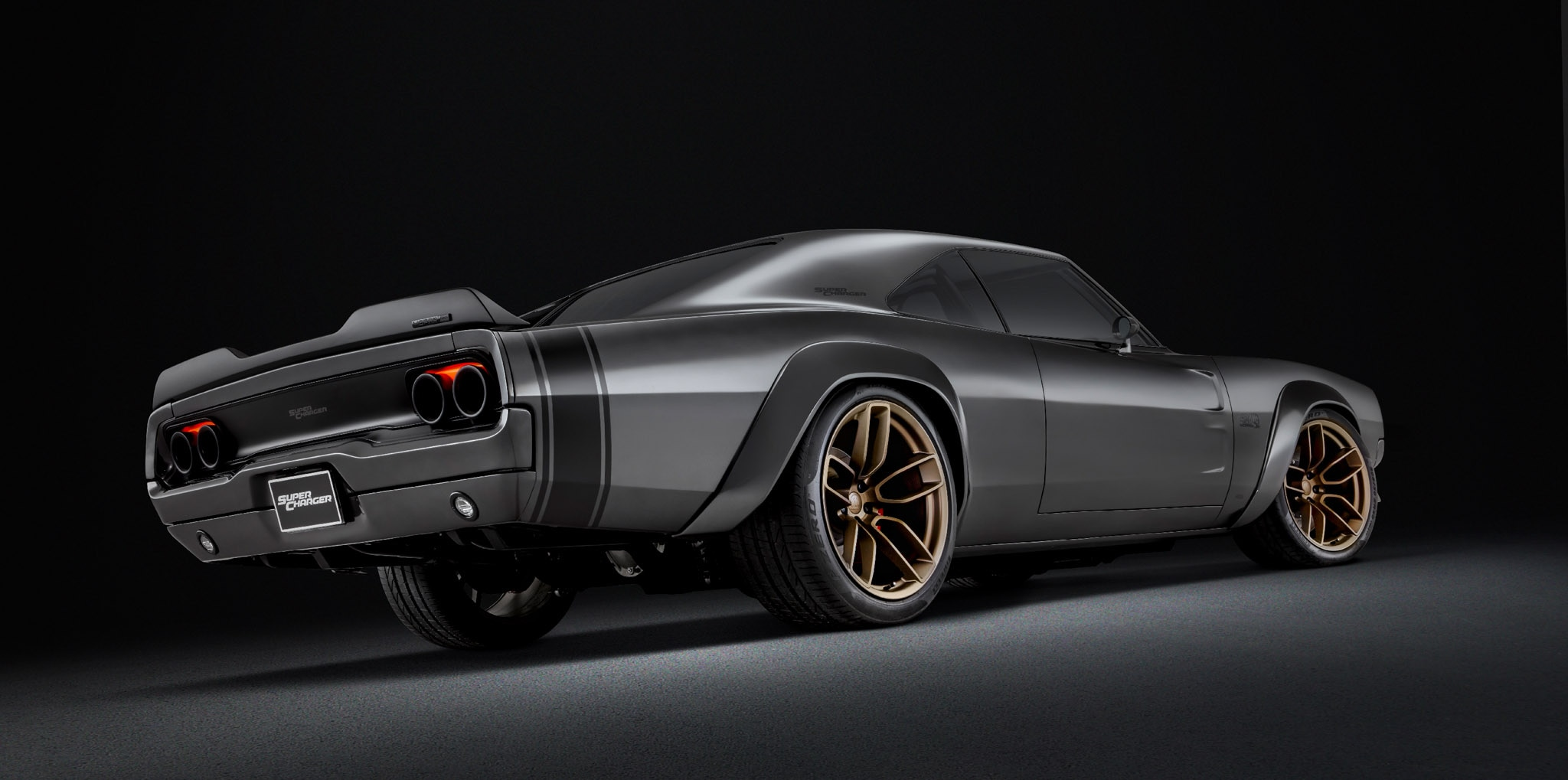 This 1968 Dodge SuperCharger Resto-Mod has a 1,000-HP 426 Hemi