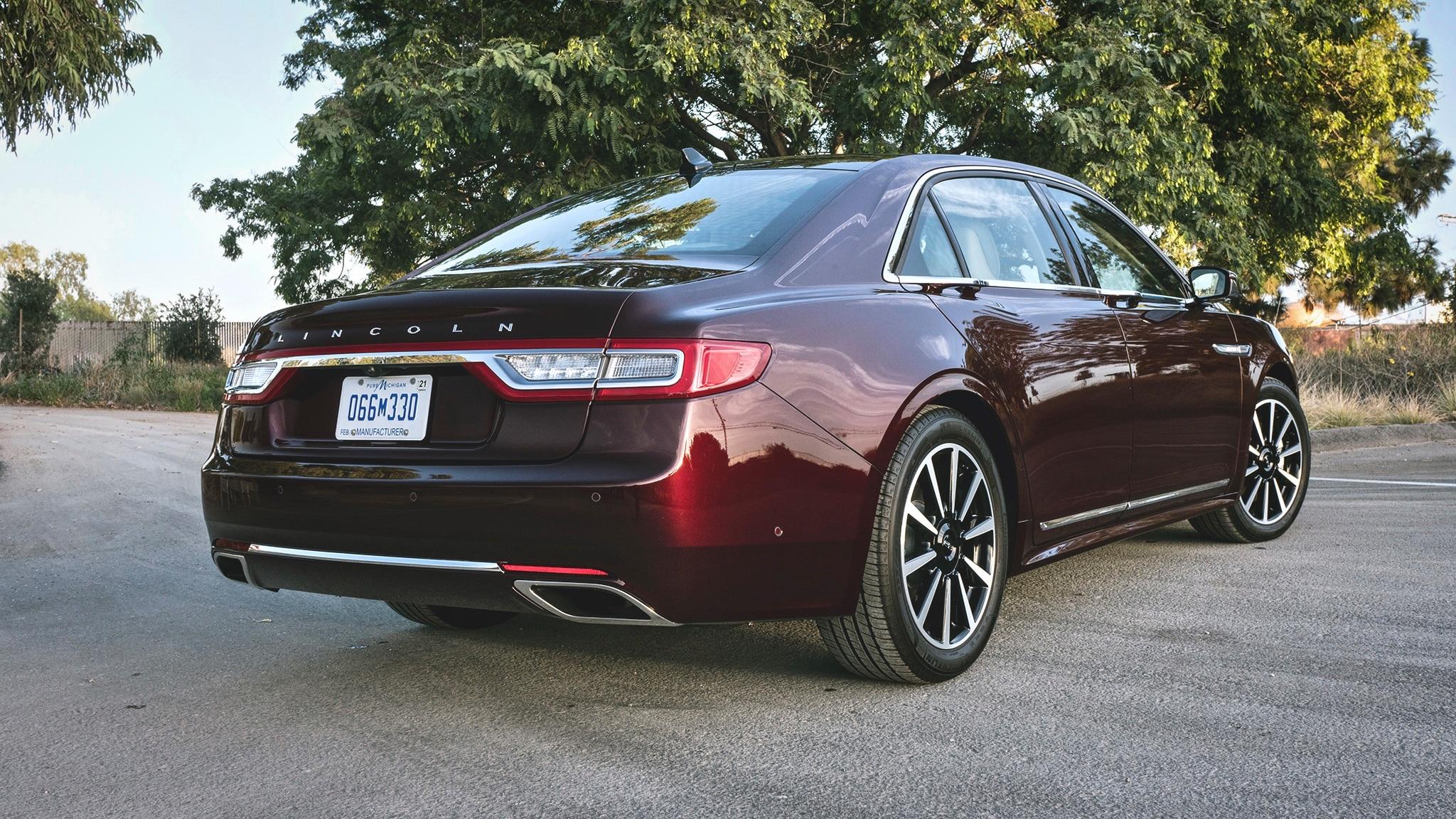 2018 Lincoln Continental Quick Review Automobile Magazine
