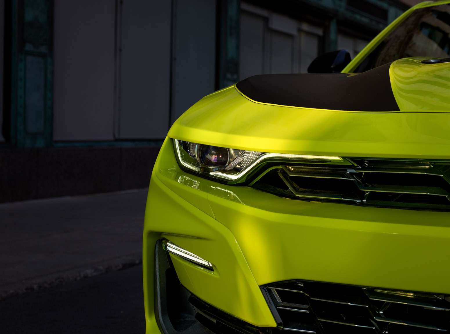 2019 Chevrolet Camaro Ss In Shock Yellow Preps For Sema