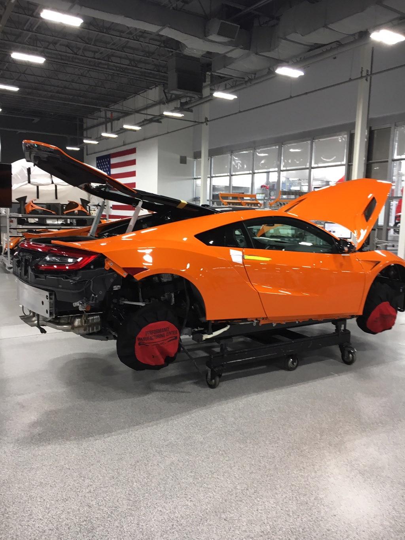 Acura Nsx Orange