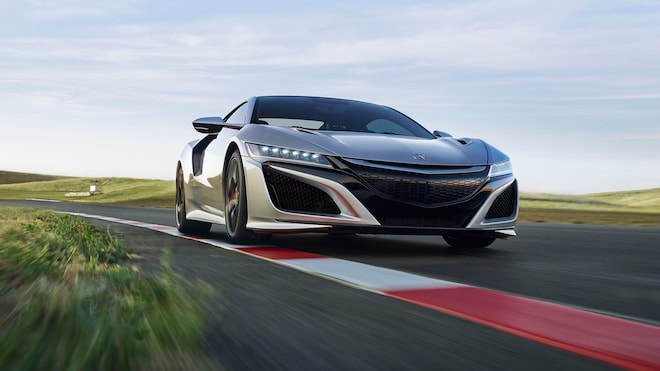 2019 Acura NSX Front Three Quarter In Motion 5