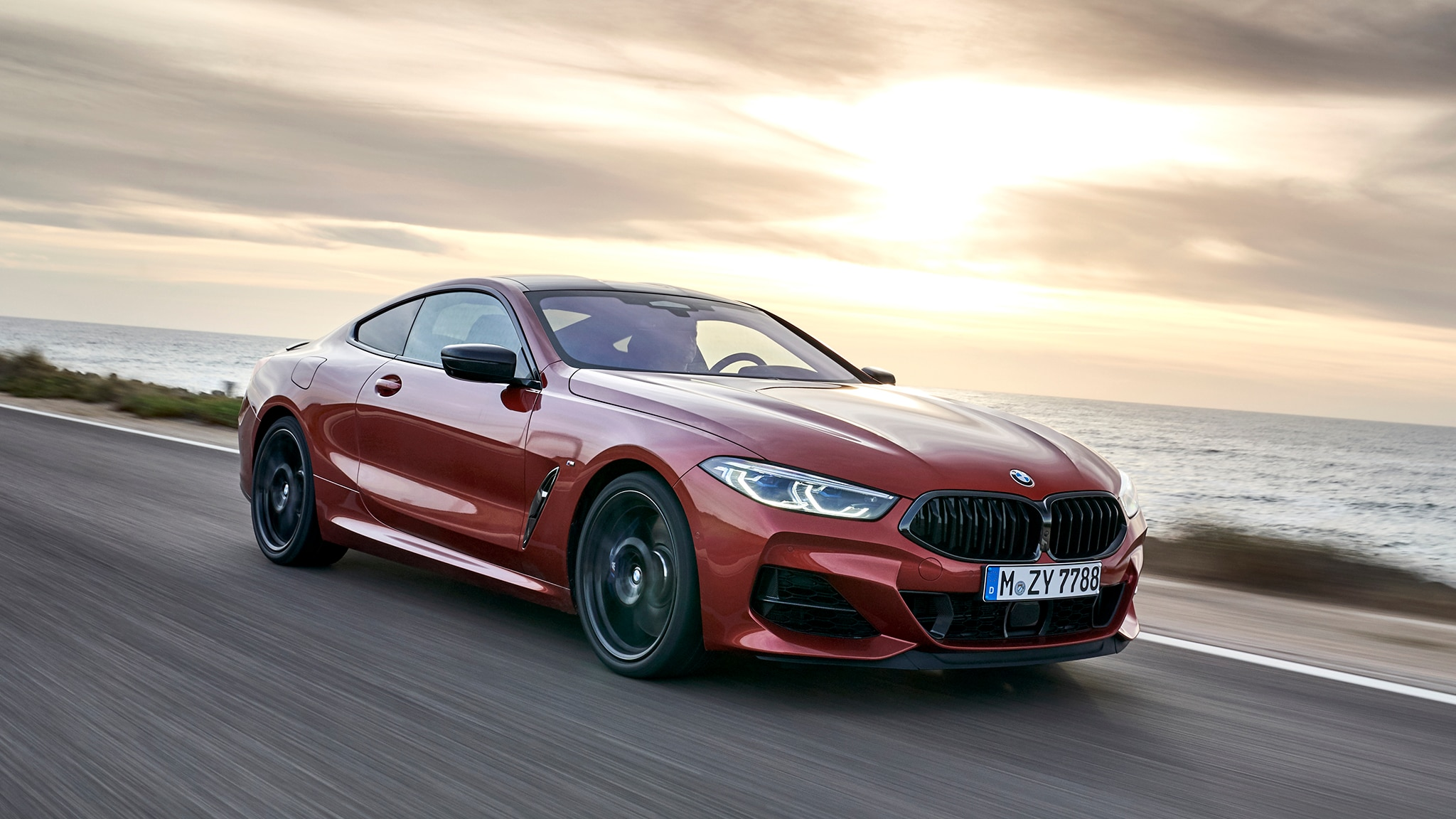 2019 BMW 8 Coupe Hero