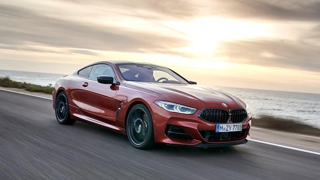 2019 BMW 8 Coupe Hero