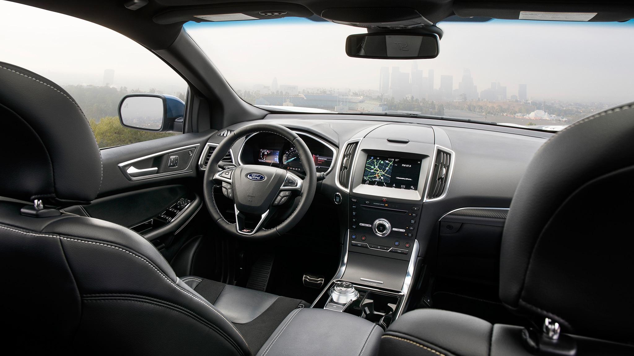 ford edge st  drive automobile magazine