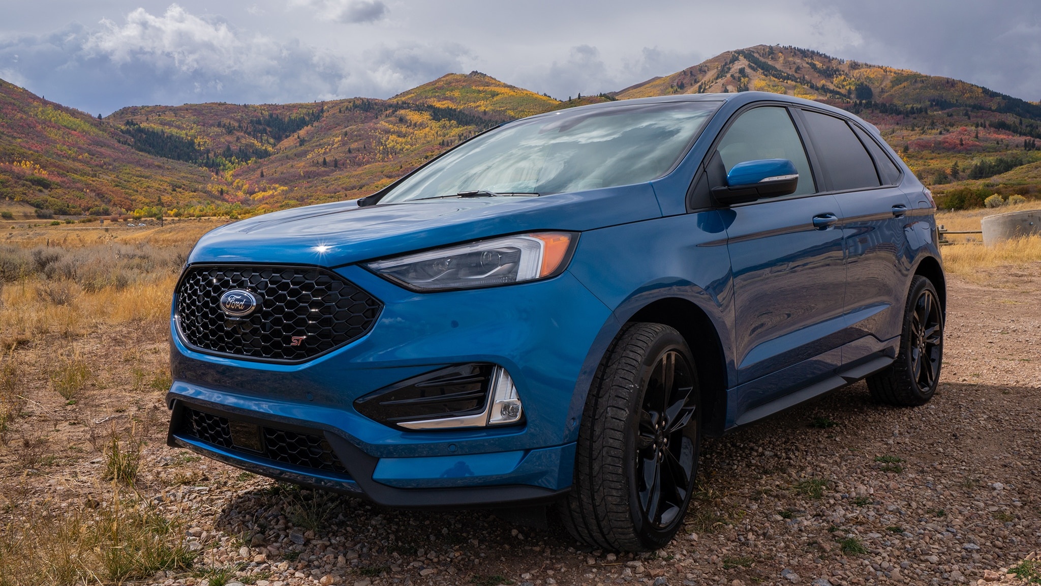 2019 ford edge st first drive automobile magazine. Black Bedroom Furniture Sets. Home Design Ideas