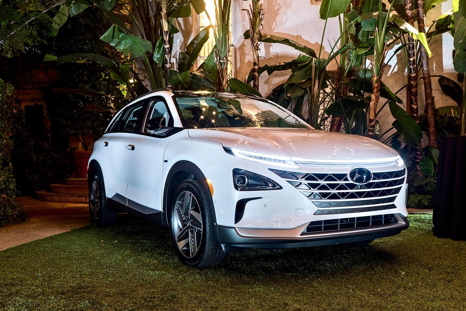 2019 Hyundai Nexo At Sunset Marquis Hotel