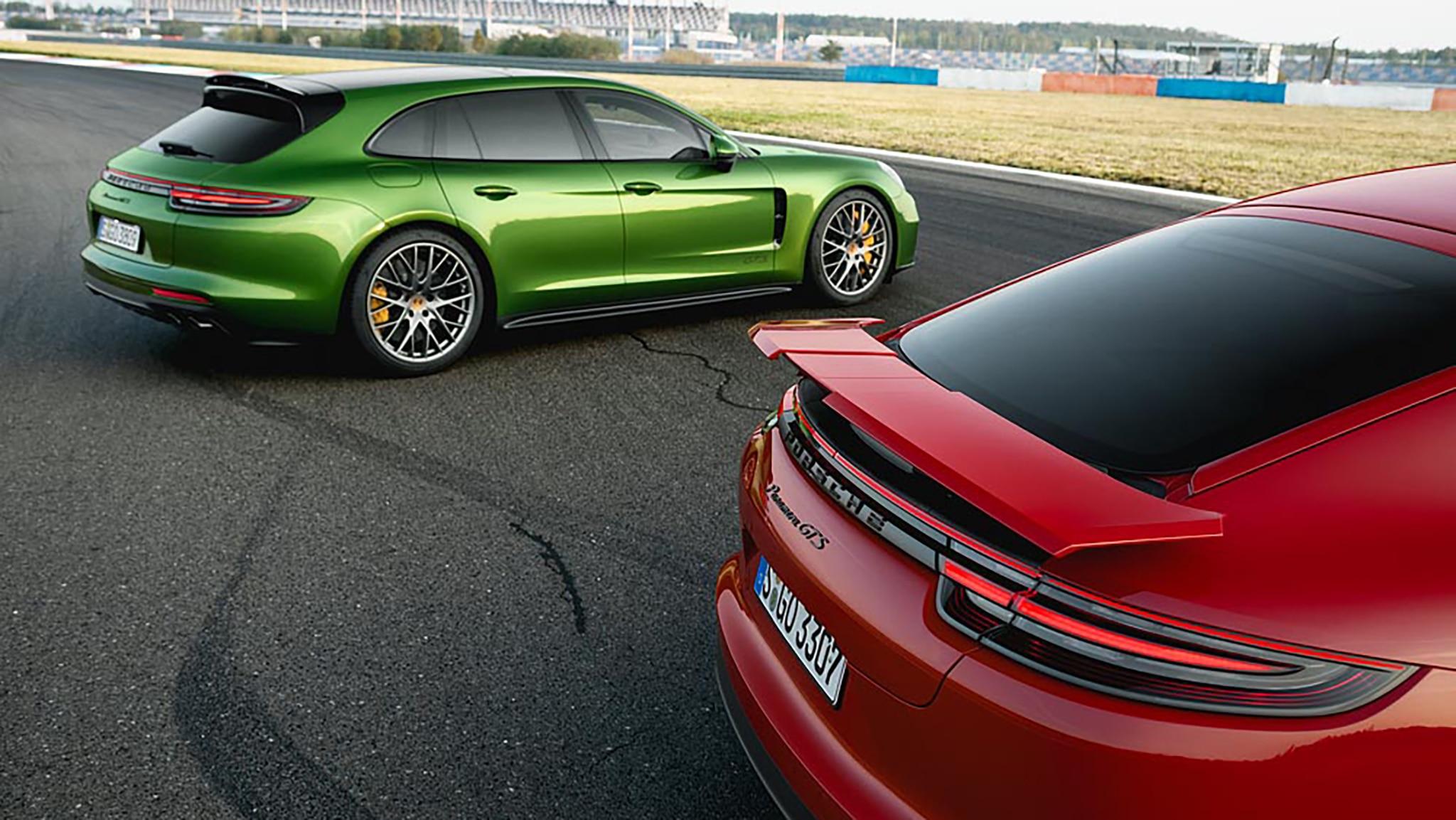 2019 Panamera GTS And Panamera GTS Sport Turismo Hero