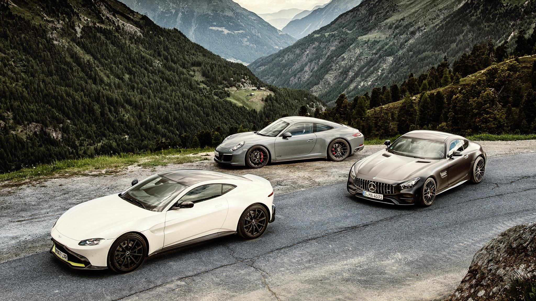 Aston Martin Vs Mercedes AMG Vs Porsche
