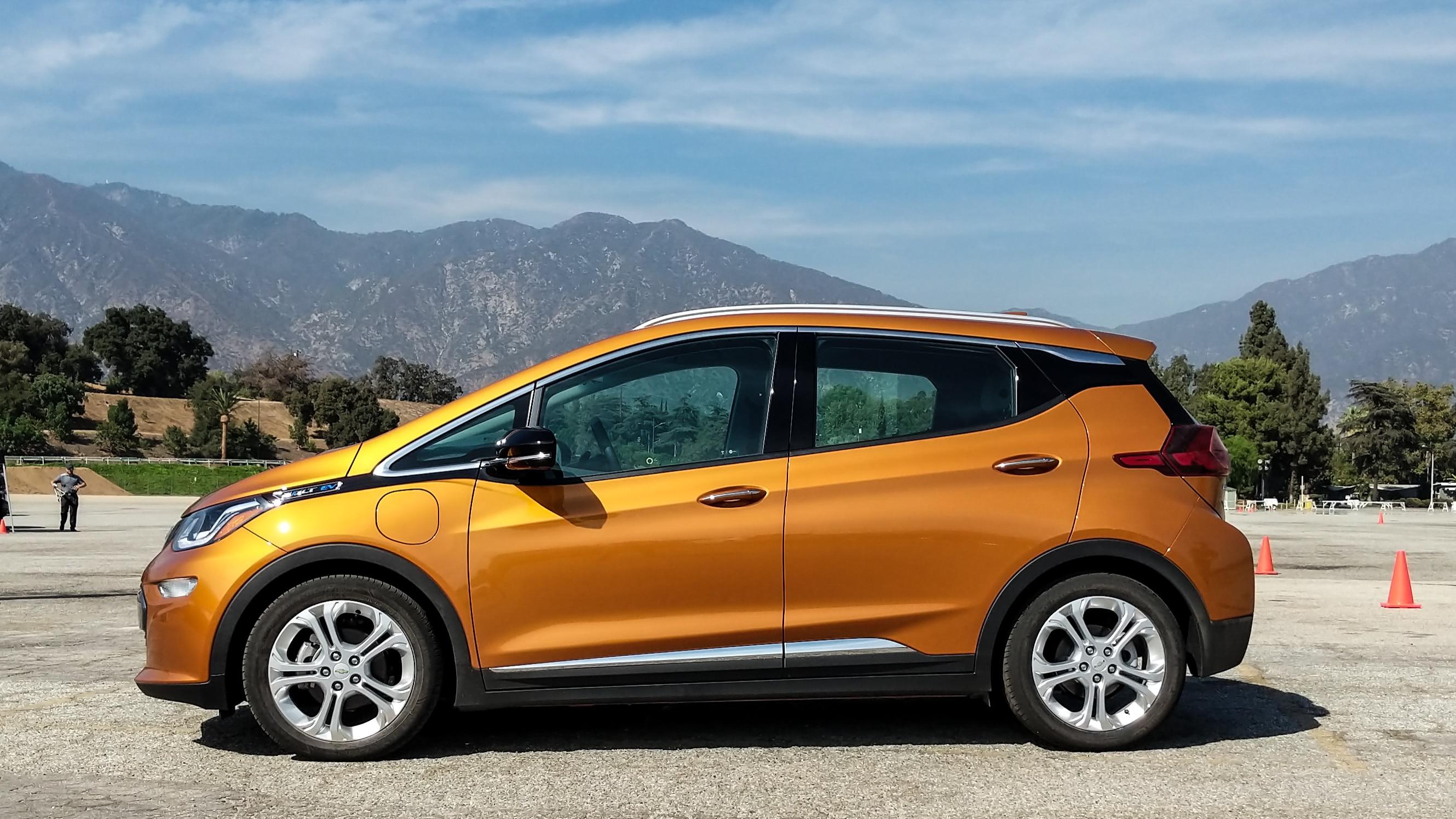 Autocrossing the 2019 Chevrolet Bolt EV   Automobile Magazine