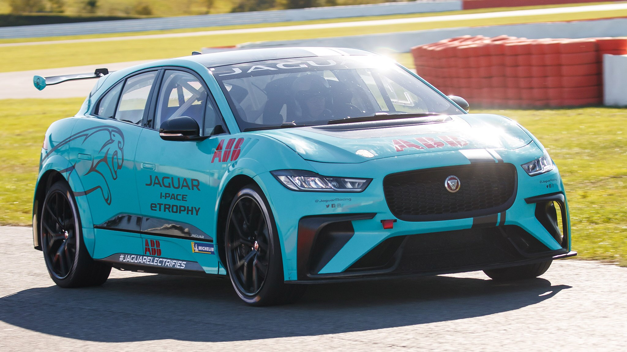 My Cornering Speed Limits Were Determined By How Much I Could Rotate The  I Pace On Entry. It Behaves Very Much Like Most All Wheel Drive Cars On A  Track, ...