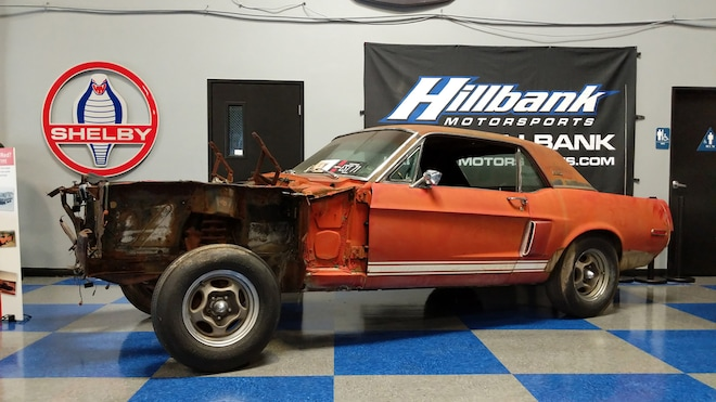 Little Red 1967 Ford Shelby GT500 EXP Prototype Hero