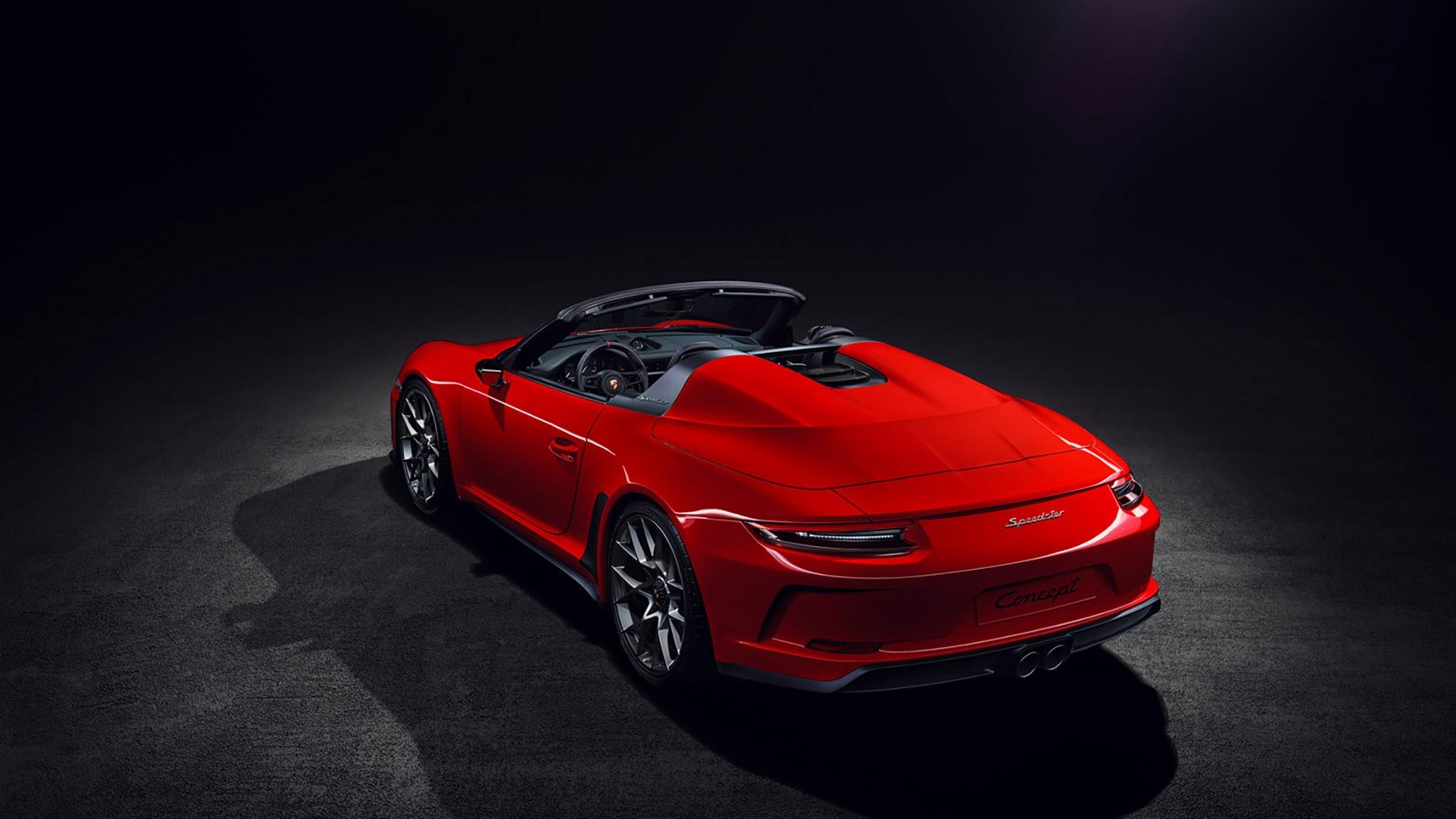 Porsche 911 Speedster Concept Ll Gets Green Light