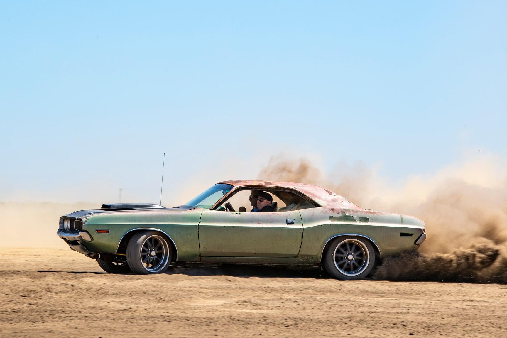 1970 Dodge Challenger Gets Budget Handling Upgrades