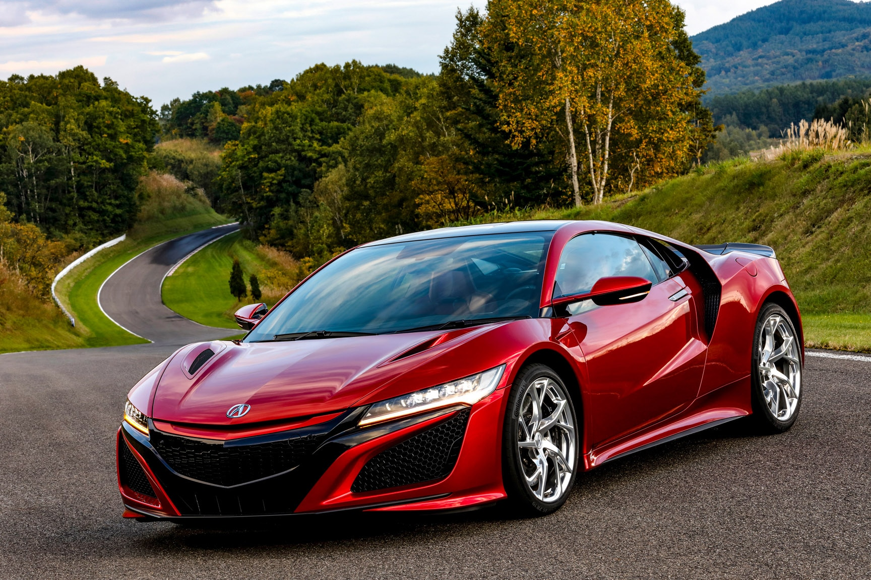 2019 Acura Nsx First Drive Review Automobile Magazine