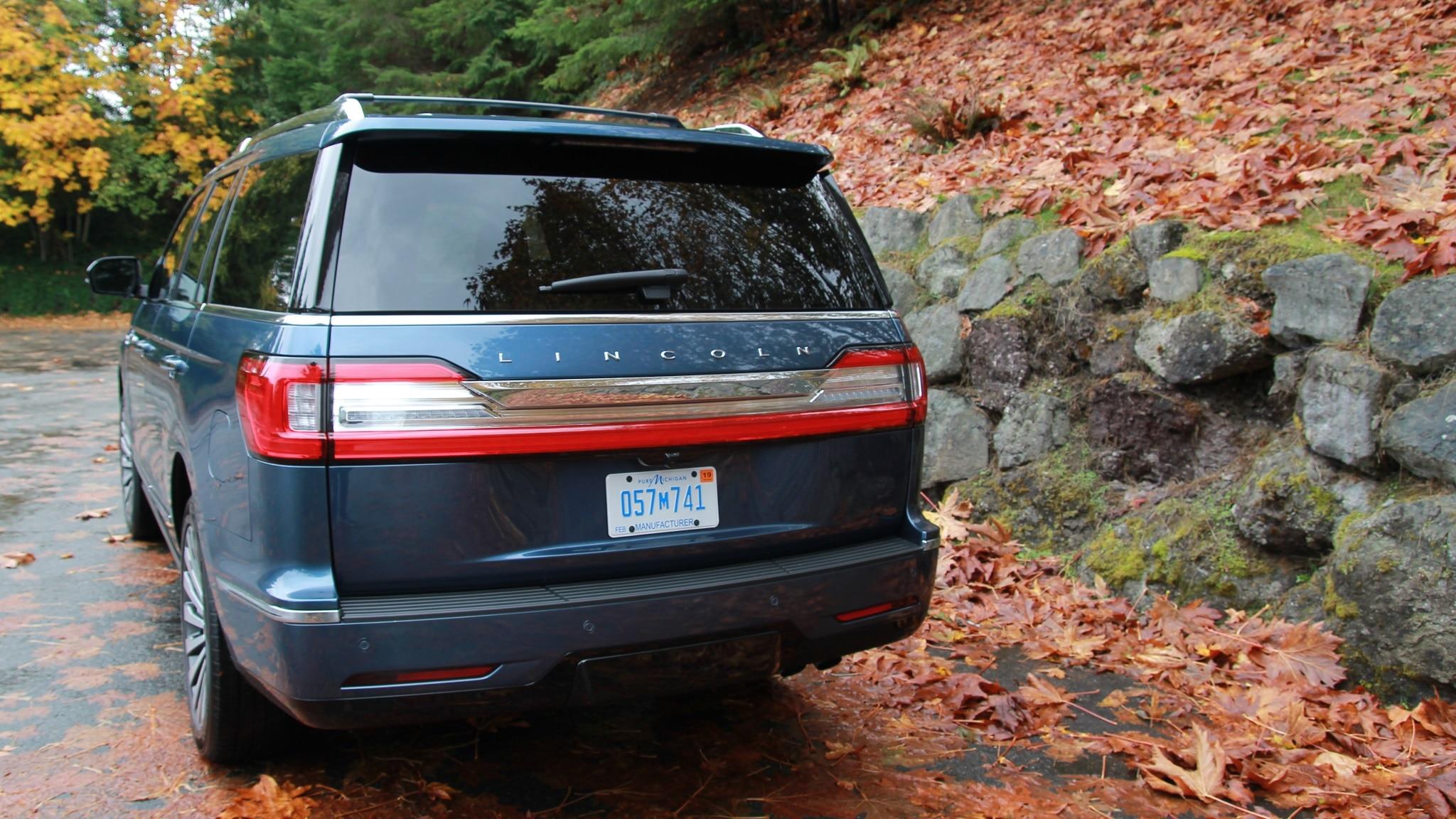 2018 Lincoln Navigator Reserve 4x4 Rear