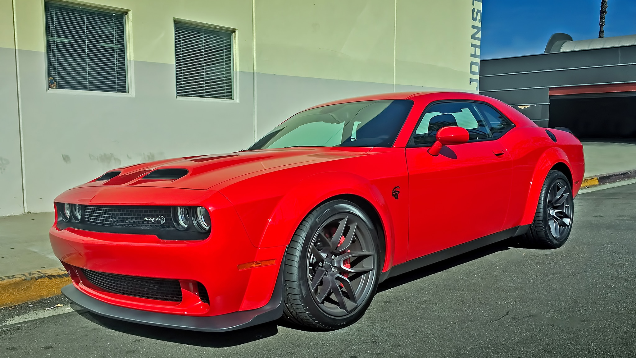2019 Dodge Challenger SRT Hellcat Redeye Hero Red