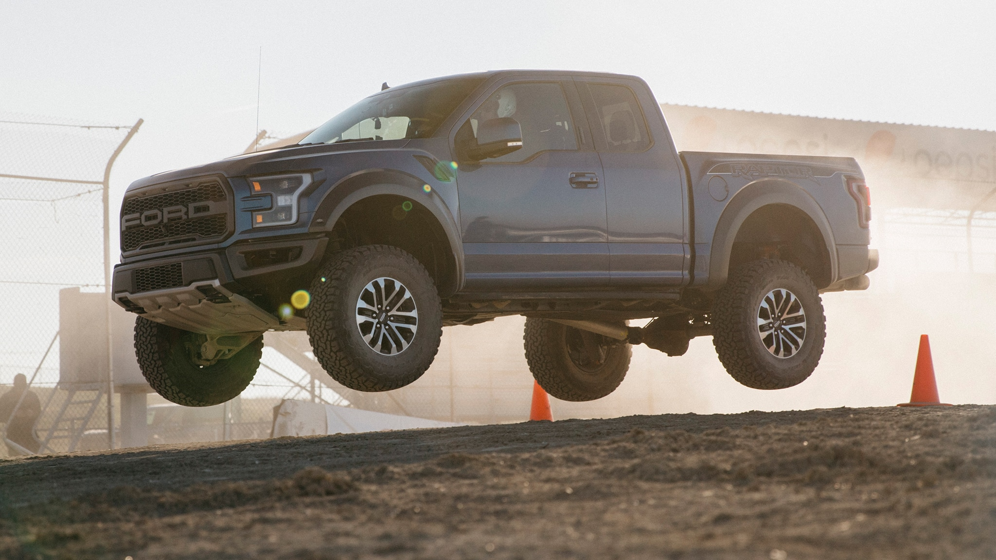 2019 Ford F 150 Raptor In Air