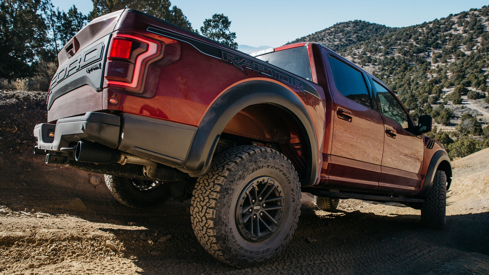 ford   raptor  drive review automobile magazine