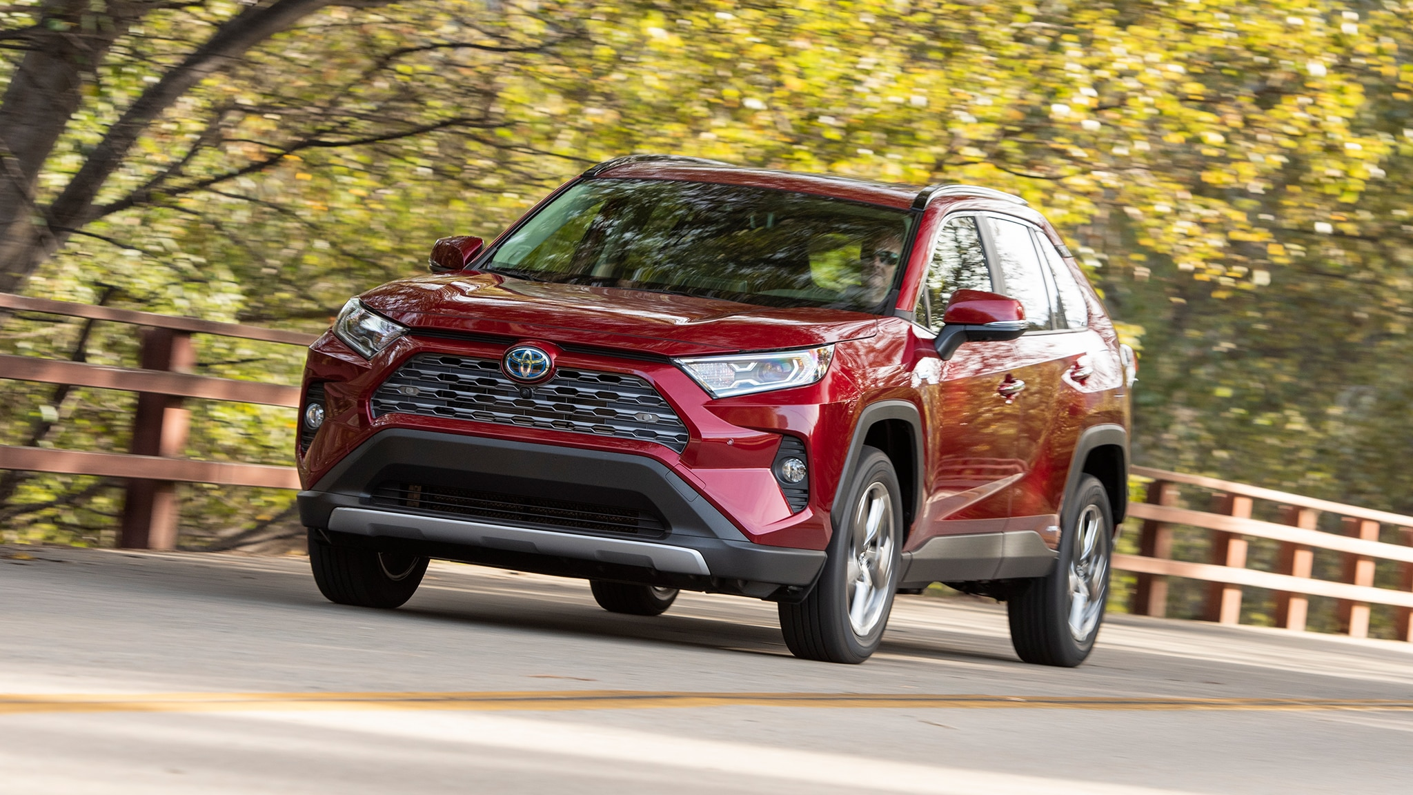 2019 toyota rav4 first drive review automobile magazine. Black Bedroom Furniture Sets. Home Design Ideas