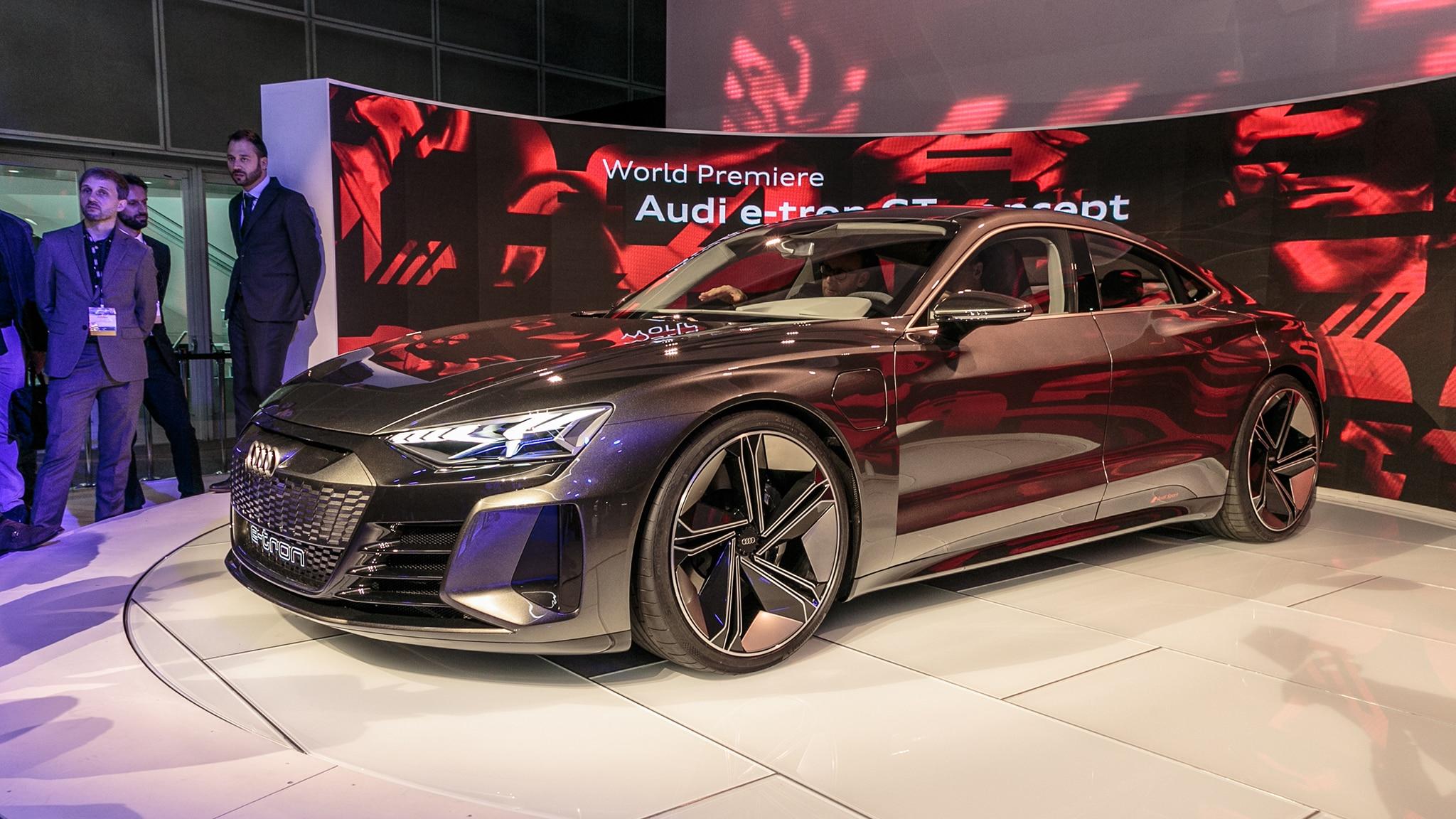 Audi E Tron Gt Ev Is A Vegan S 590 Hp Dream Automobile Magazine