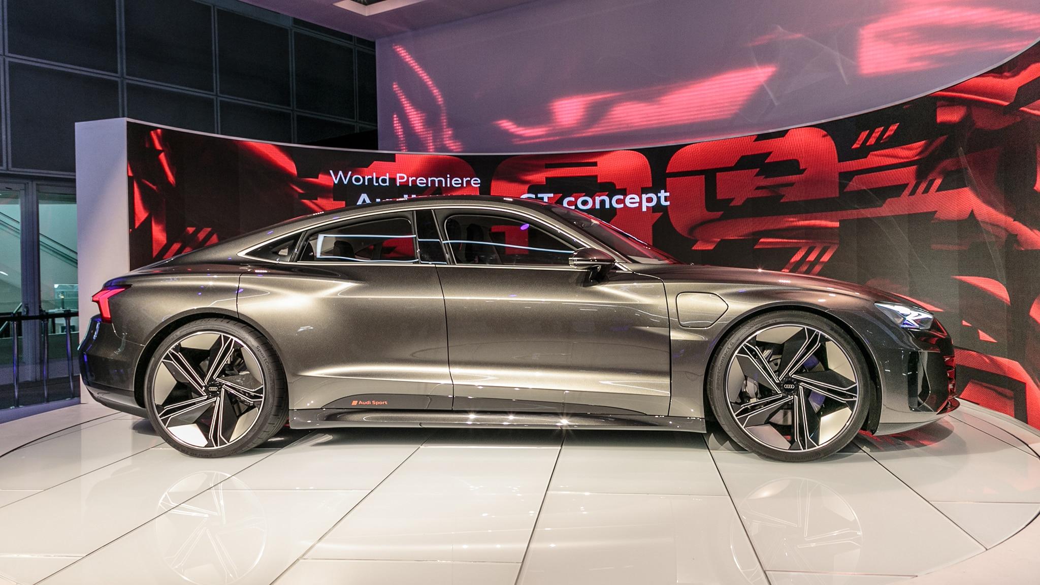 Audi E-Tron GT EV is a Vegan's 590-HP Dream   Automobile ...