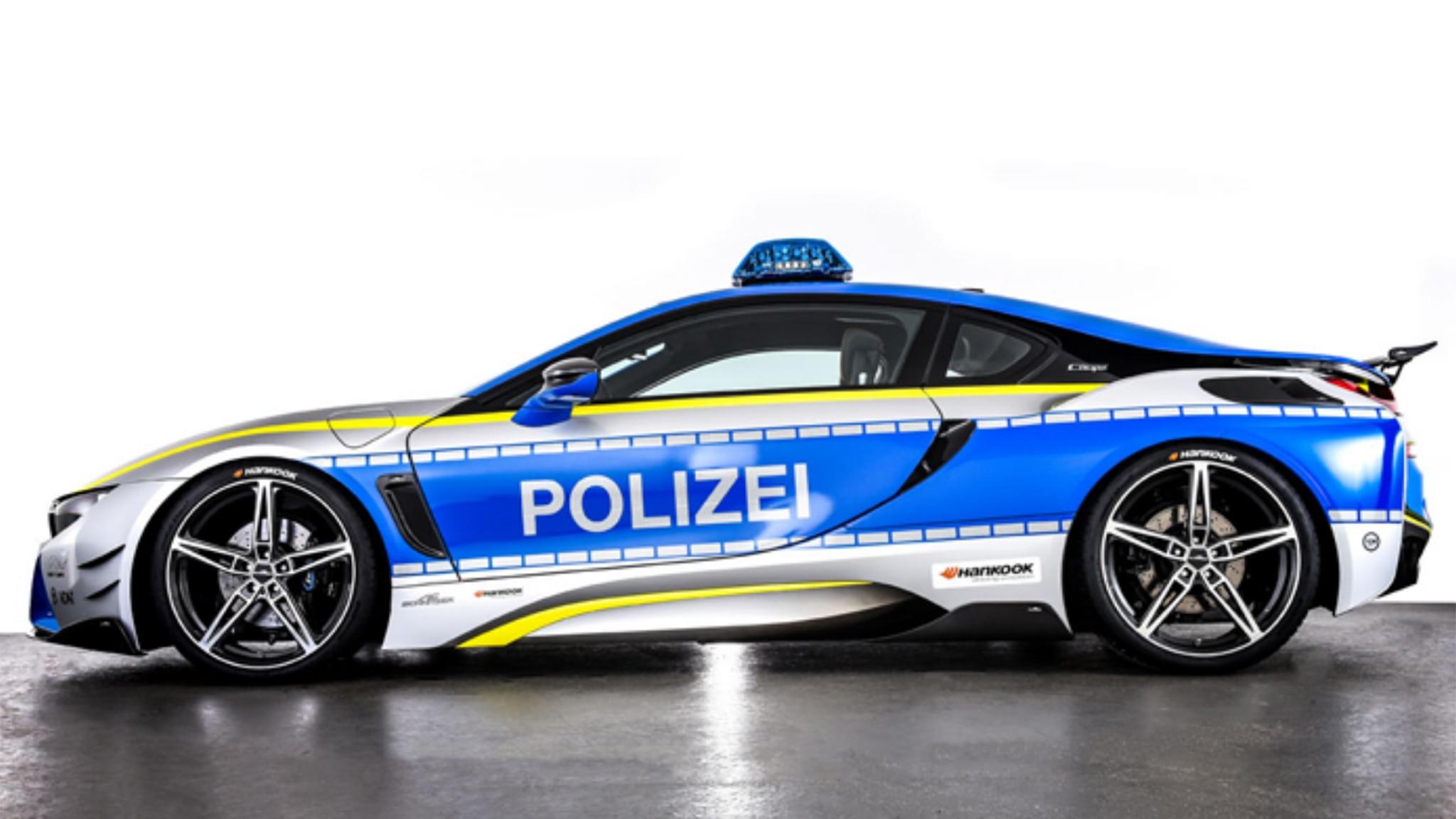 BMW I8 AC Schnitzer Police Car 06