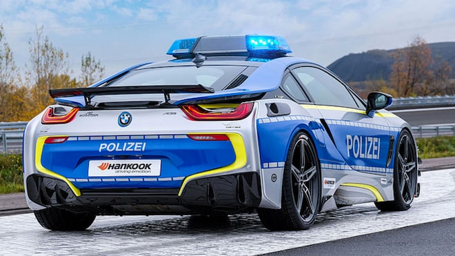 A Bmw I8 Police Car To Strike Fear Envy Into Hearts Of Criminals