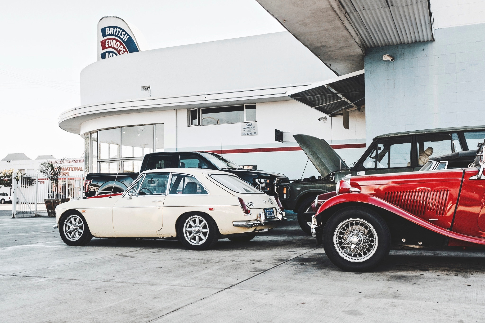 Behind the Scenes of a Longtime European-Car Repair Shop