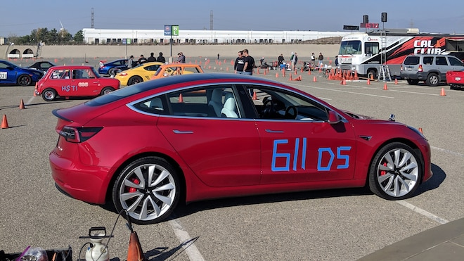 Tesla Model 3 Track Mode Autocross 11