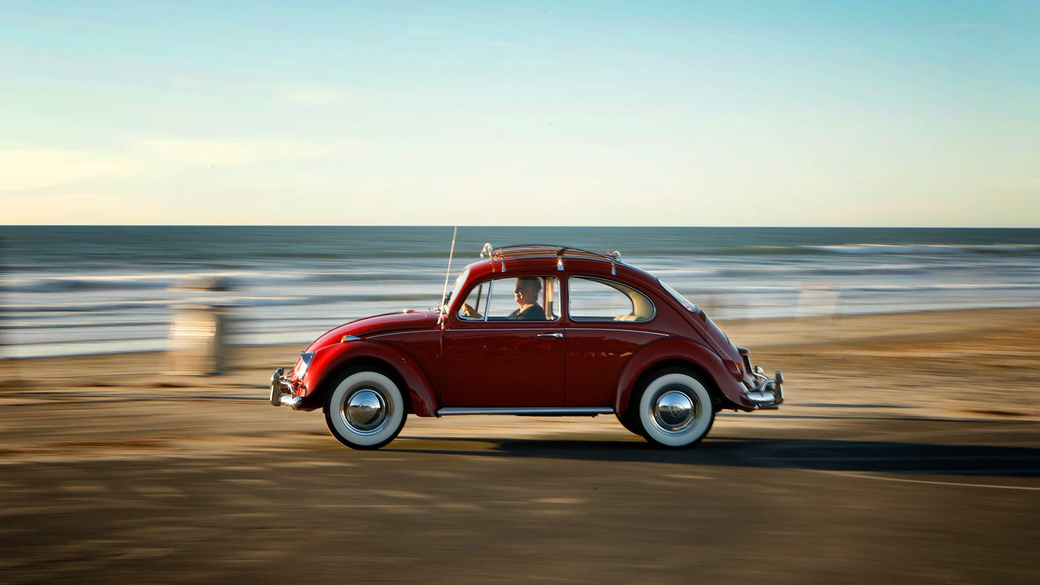 volkswagen restores  mile  beetle   original owner automobile magazine