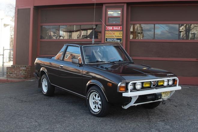 1978 Subaru Brat Just Listed Front Three Quarters