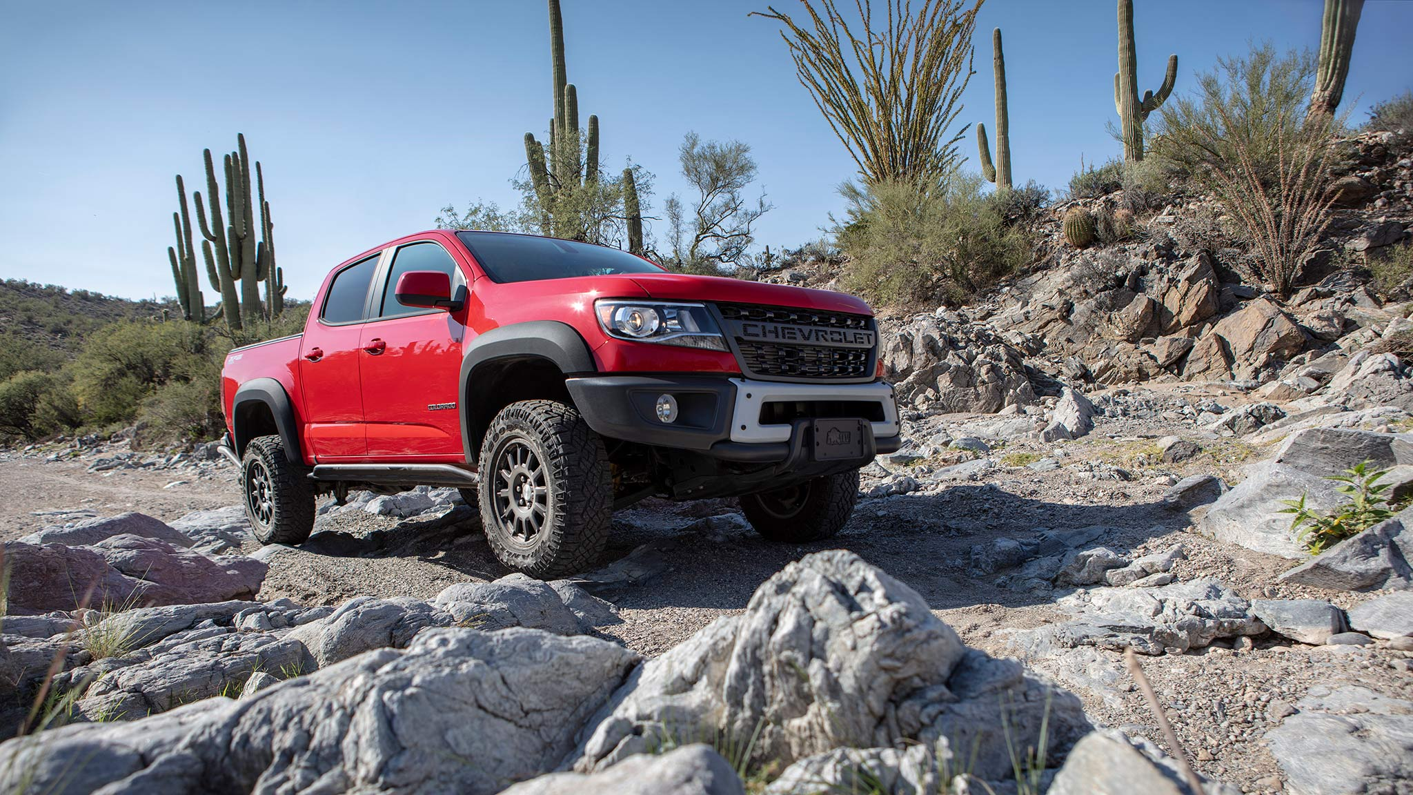 Show more & 2019 Chevrolet Colorado ZR2 Bison First Drive: Off-Road ...