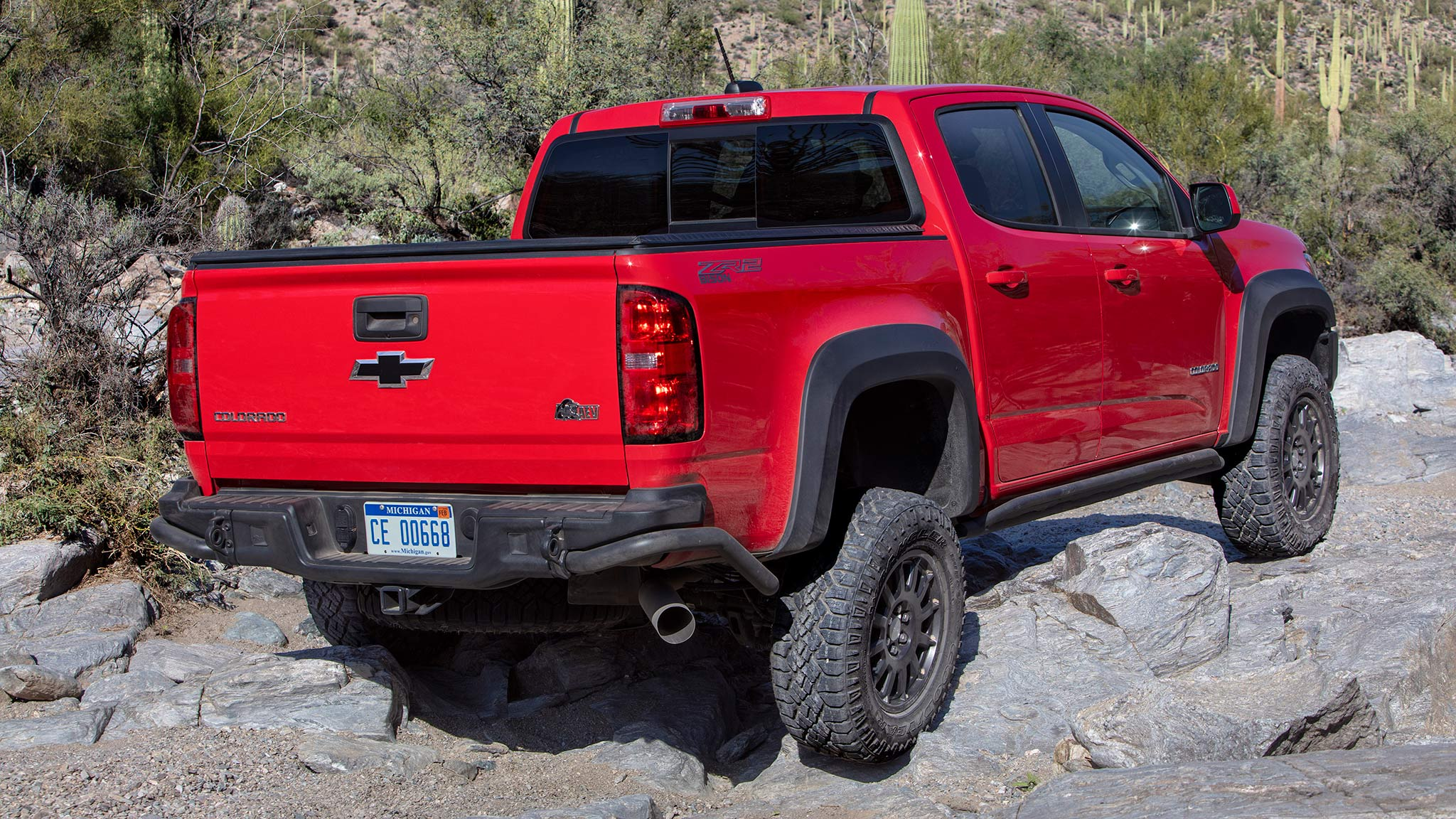 2019 chevrolet colorado zr2 bison first drive  off
