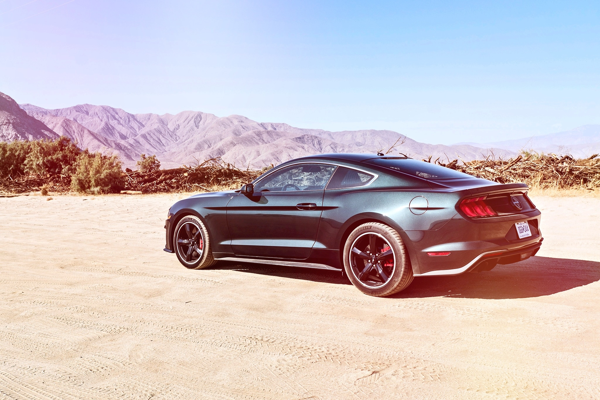 2019 Ford Mustang Bullitt: We Escape L.A. and Head to the Desert | Automobile Magazine