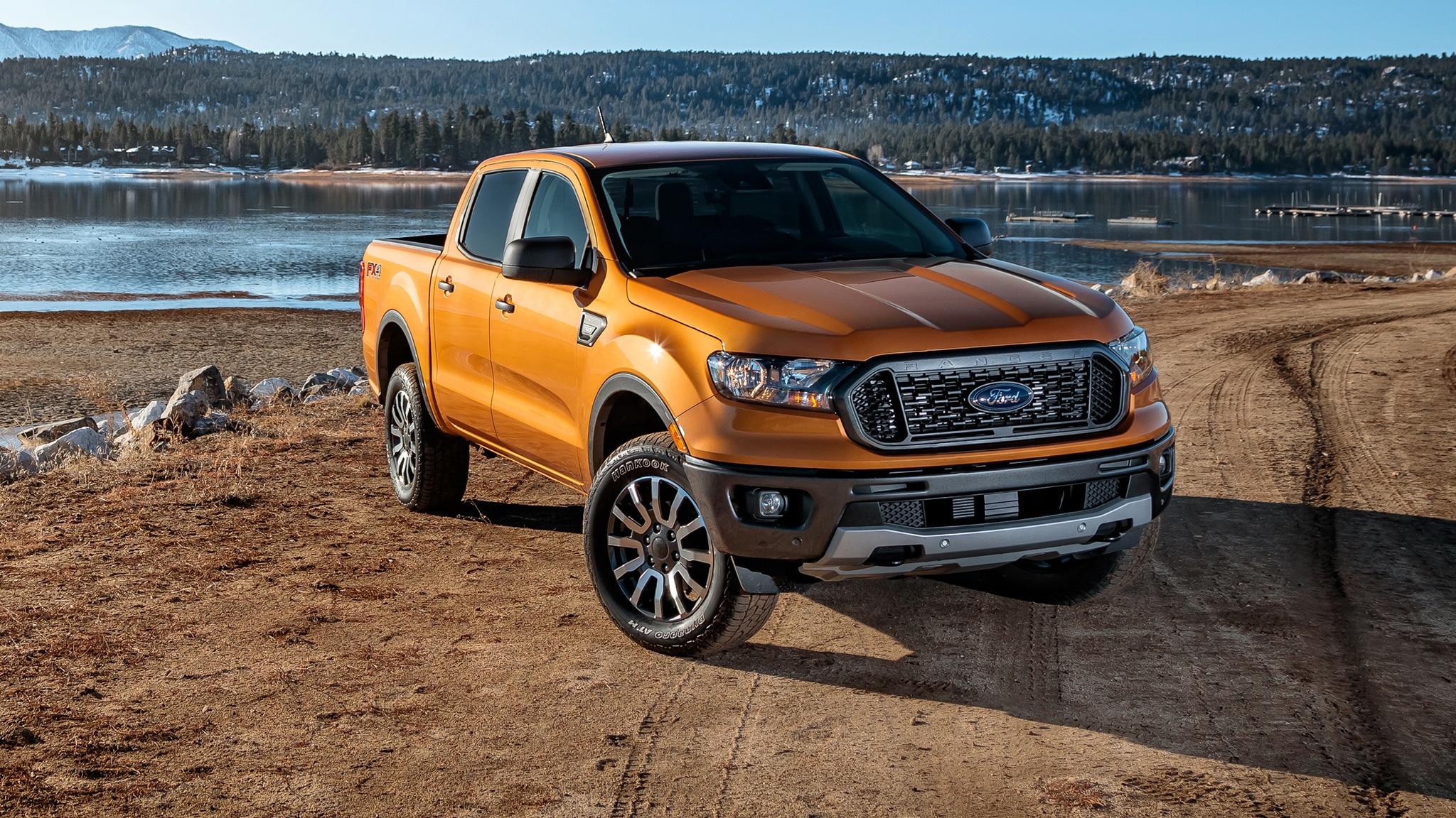 ford ranger  drive review  midsize truck battle   automobile magazine