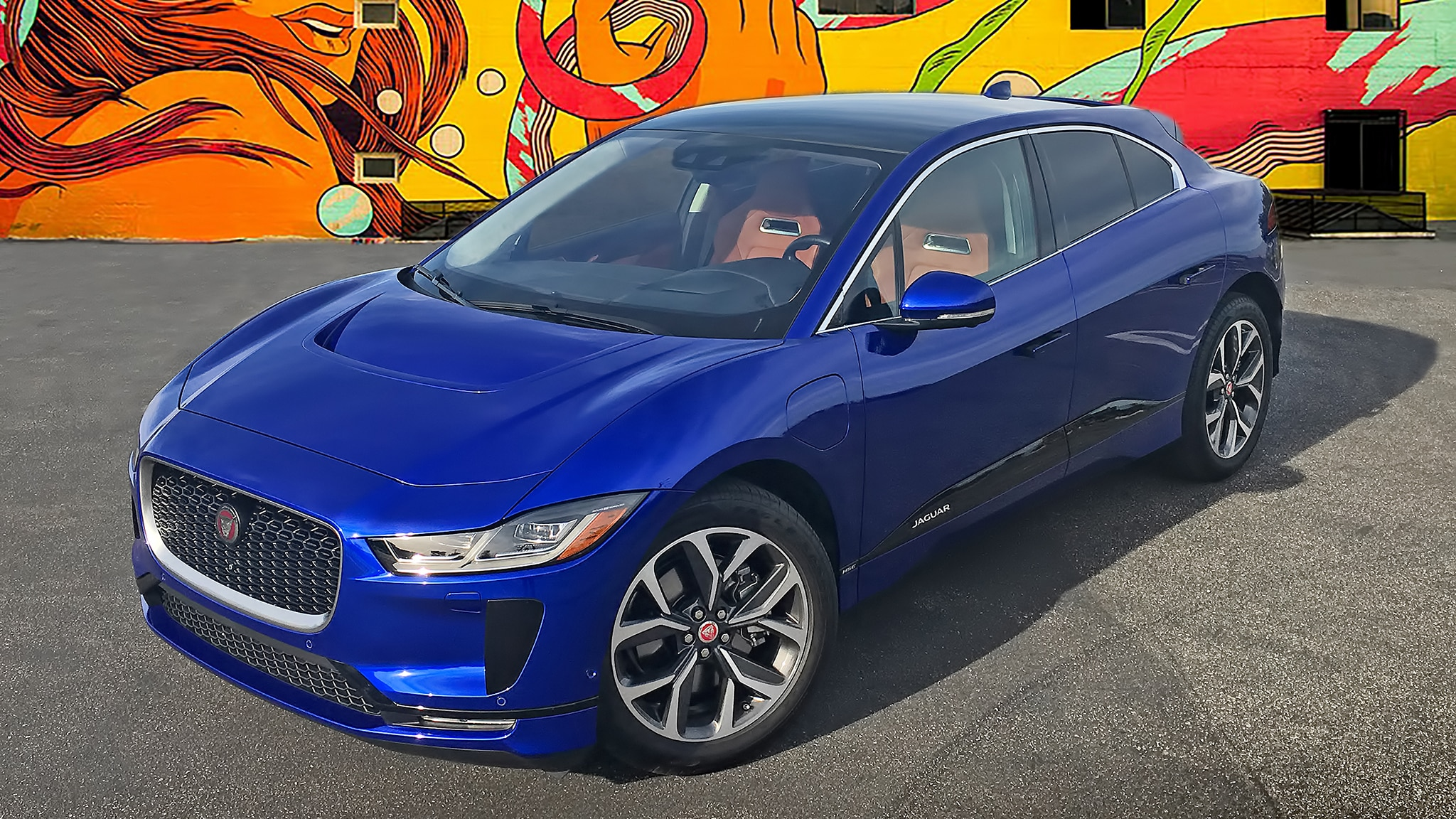 2019 Jaguar I Pace EV400 Blue