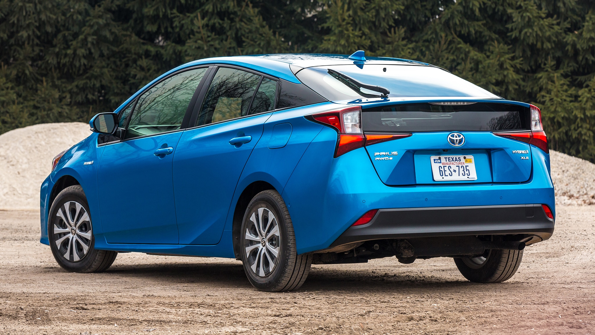 2019 toyota prius awd e first drive review more all weather capability automobile magazine. Black Bedroom Furniture Sets. Home Design Ideas