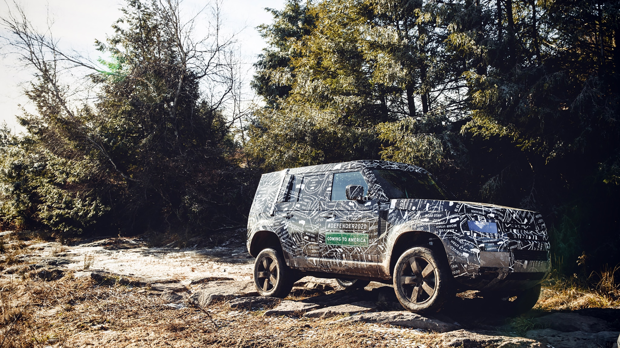 2020 Land Rover Defender: Here's Another Undisguised Look