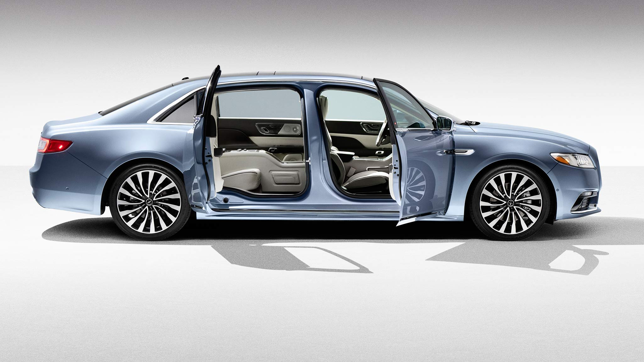 the new lincoln continental is getting suicide doors