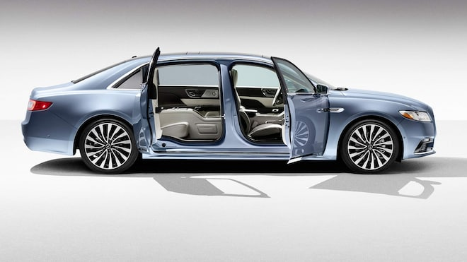 the new lincoln continental is getting suicide doors automobile magazine. Black Bedroom Furniture Sets. Home Design Ideas