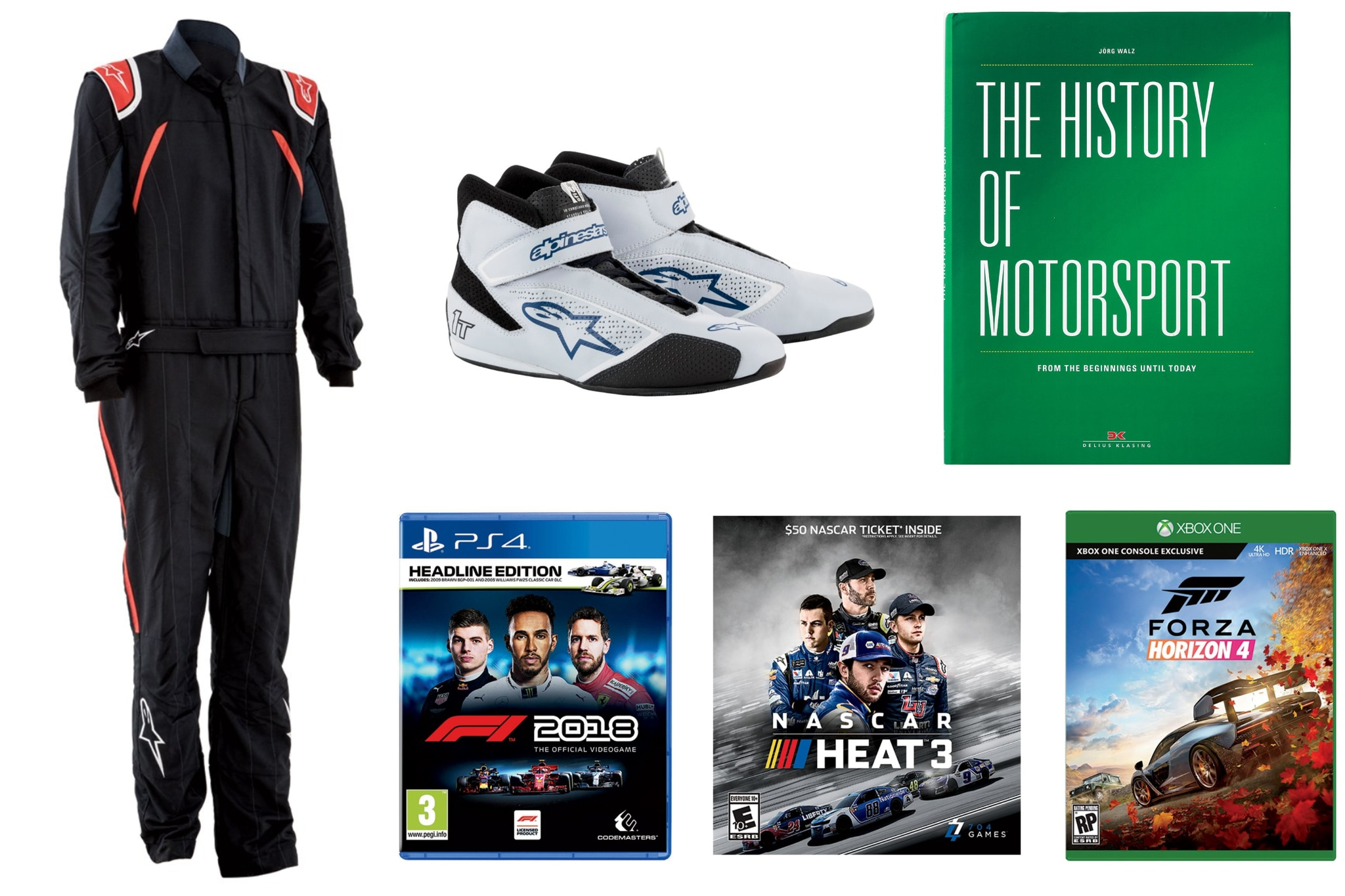 Motorsports Gift Guide Lead