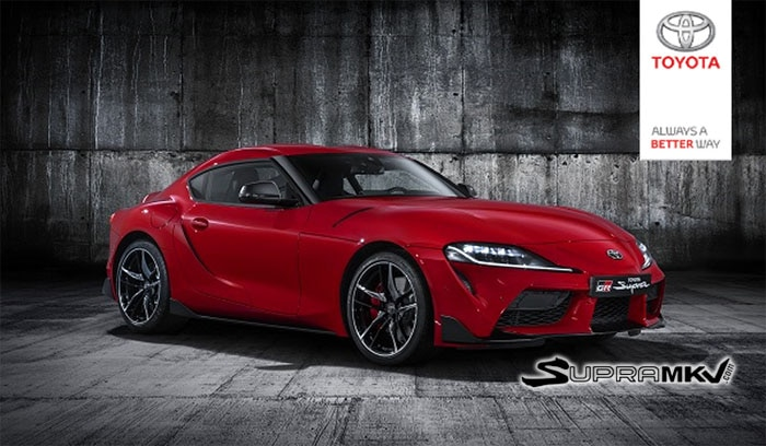 Official Toyota Supra Reveal