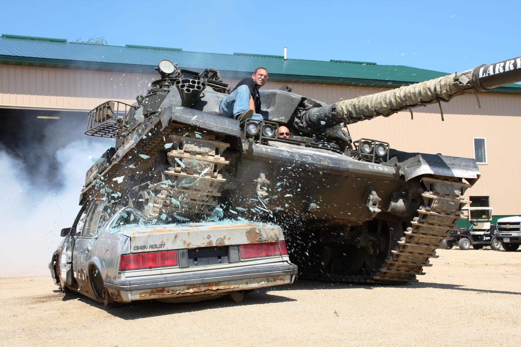 Photos Courtesy Of Drive A Tank 5 1