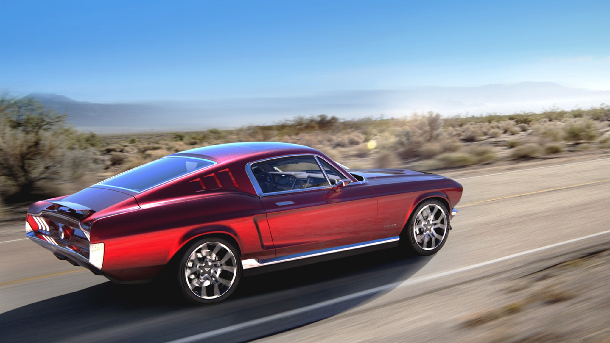 This Russian Retro Mustang Ev Promises 0 62 Mph In 2 2 Sec