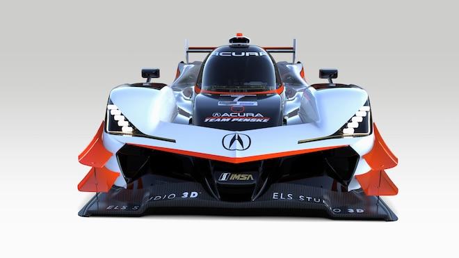 08 2019 Acura Team Penske 7 ARX 05 Prototype