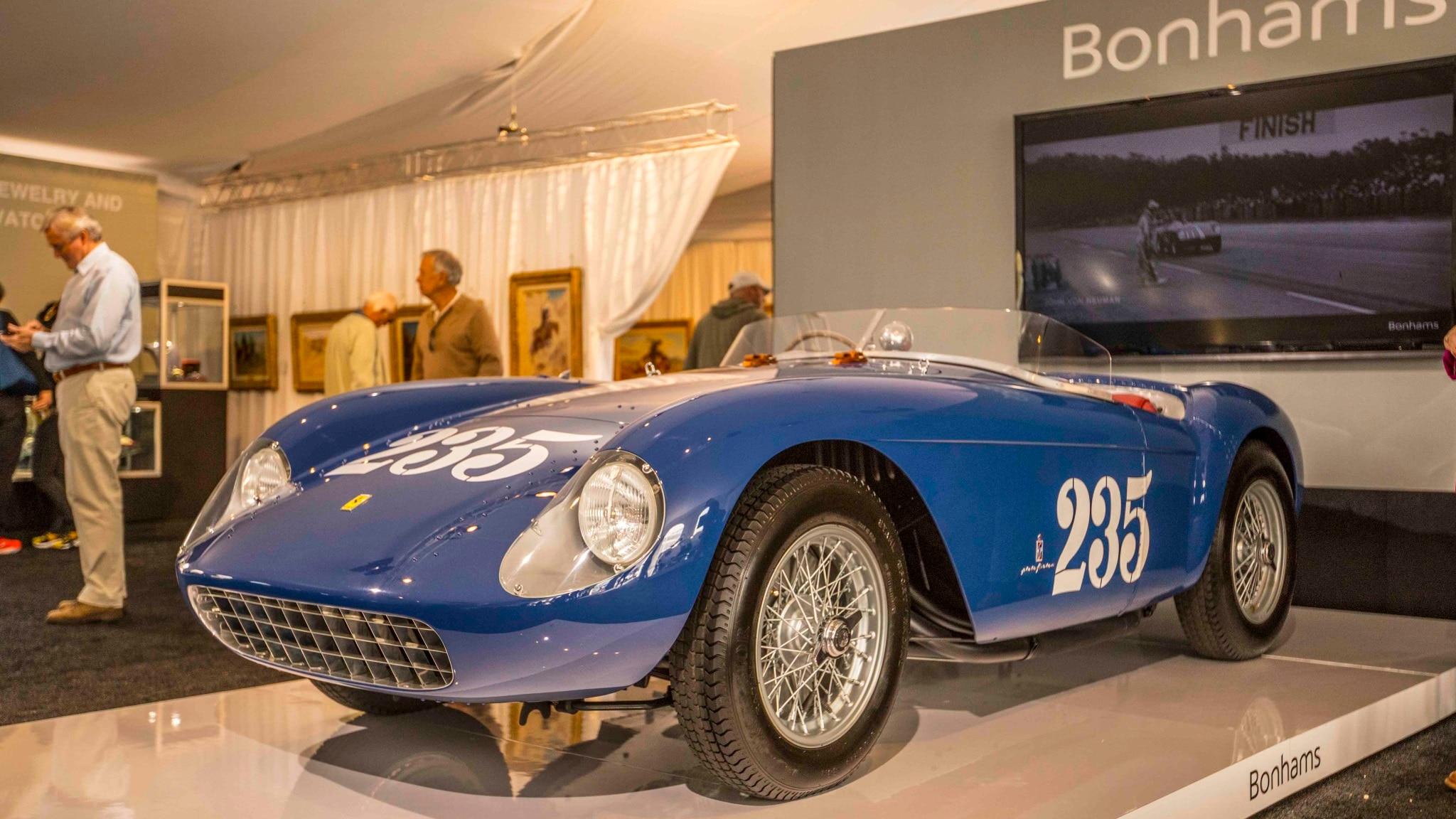 1954 Ferrari 500 Mondial Front Three Quarter